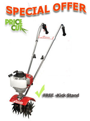 Mantis Classic Tiller / Cultivator  Petrol 4 Stroke With Kickstand