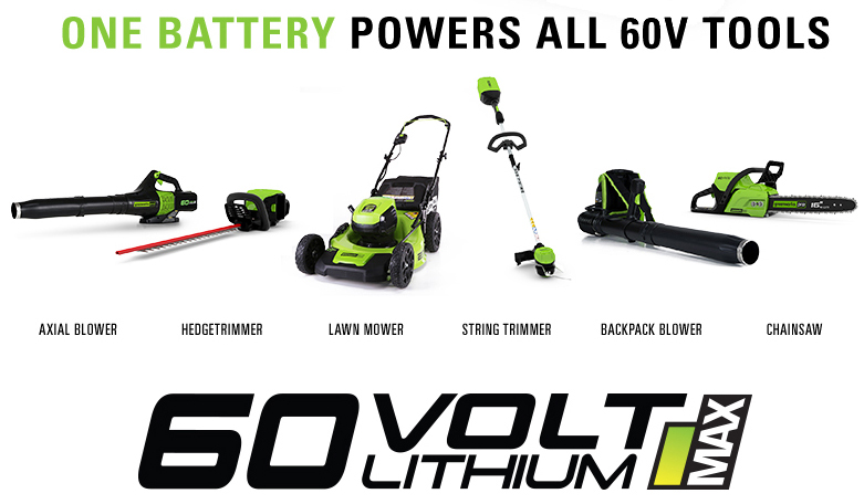 Greenworks GD60LM46HPK2 60V Push Cordless Lawn Mower with 2Ah Battery &  Charger